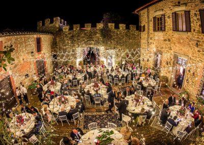Castello di Cafaggio Cena nella Corte