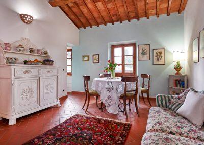 Castello di Cafaggio Appartamento Rose