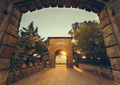 Castello di Cafaggio Archi