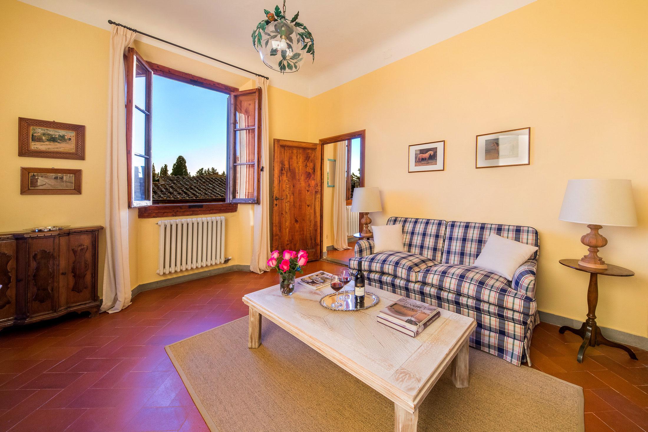 Castello di Cafaggio Suite