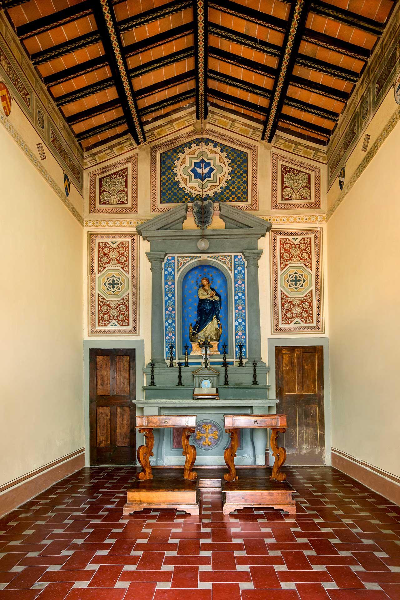 Castello di Cafaggio Cappella